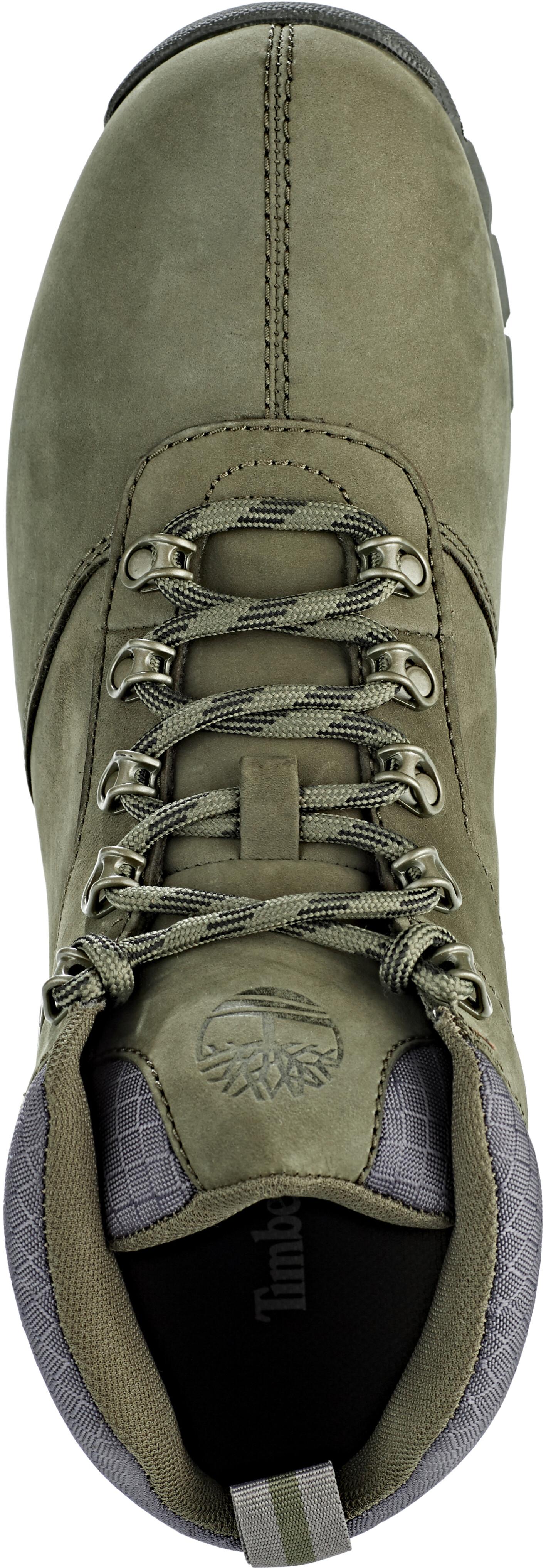 0df06909ff Timberland Splitrock 2 Hiker Shoes Men dark green nubuck at ...